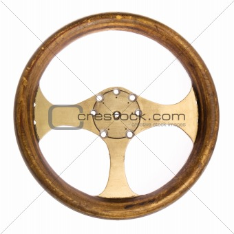 Retro Race Car Steering Wheel
