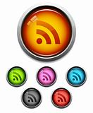 RSS feed button icon