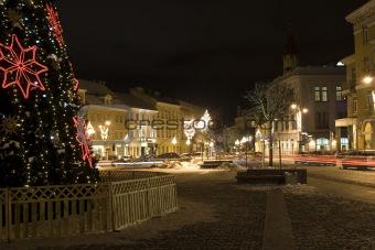A christmas city