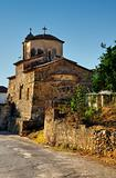 Chuch in a Greek village