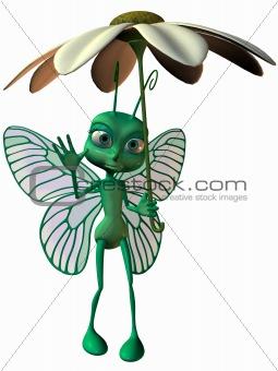 Toon Butterfly