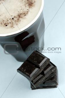 Cappuccino and Dark Chocolate
