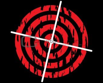 Target symbol.