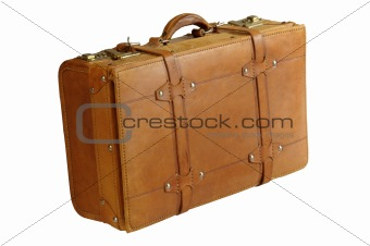 Image 1062842: Leather suitcase from Crestock Stock Photos