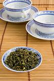 Oolong Chinese Tea and Cups