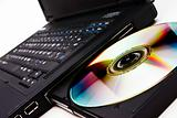 Laptop DVD reader