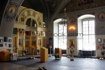 Greek Orthodox Cathedral interior