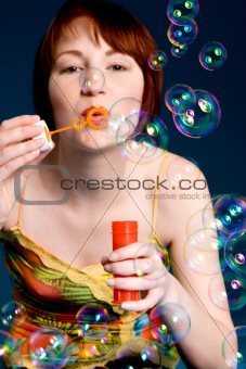 Blowing the bubbles