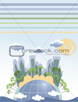 Abstract Earth theme
