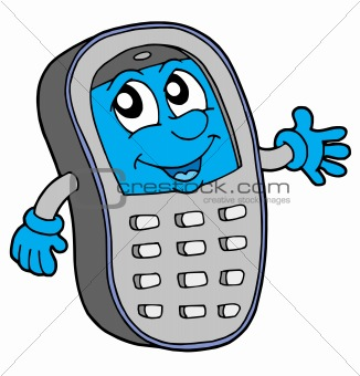 Cell phone vector illustration