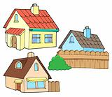 Collection of various houses