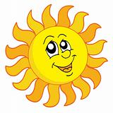 Happy Sun vector illustration