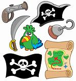 Pirate equipment collection