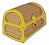 Treasure chest vector illustration