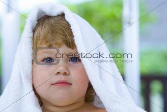 towel face