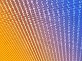 Digits data abstract illustration