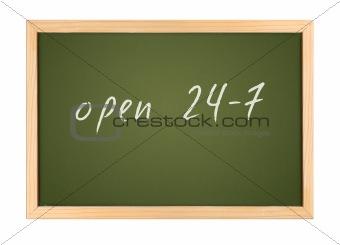 chalk board 24-7