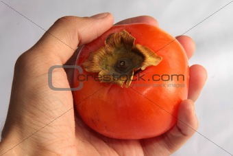 a persimmon