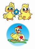 Cute chickens