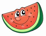 Smile watermelon