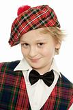 Scottish Schoolboy Portrait