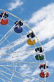 Ferris cloudy wheel