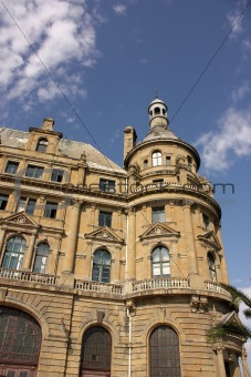 Details of Haydarpasa central station building.