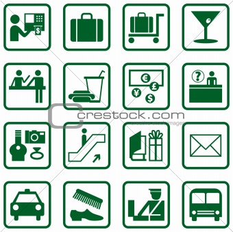 Airport / Travel Icons
