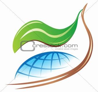Save earth logo