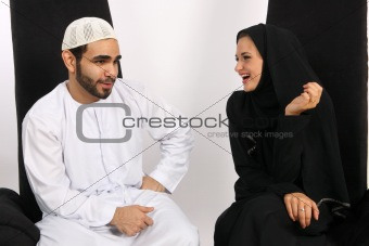 Arabian Comedy Couple