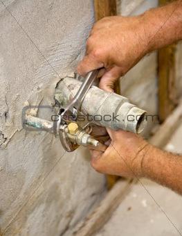 Plumbing Closeup