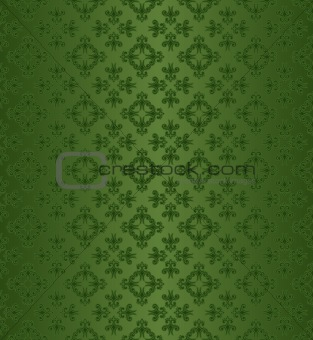Green Silk Wallpaper Background