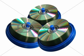 CD and DVD discs