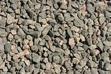 Gravel heap background