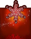 Christmas snowflakes / vector background