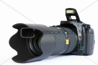 camera  on white