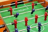 Tabletop foosball