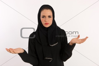 Lost Arab Woman