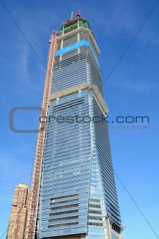 Skyscraper in construction
