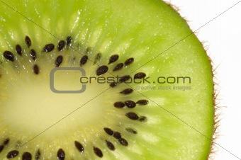Kiwi slice closeup