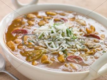 Bowl of Mulligatawny Soup