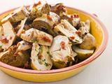 Marinated Baby Artichoke Salad with Sun Dried Tomatoes