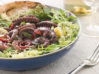 Baby Octopus Salad