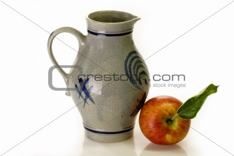 Apple and Jug