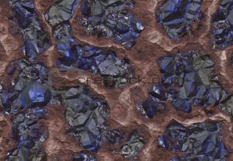Sapphire Stones Discovered Inside a Mine