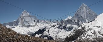 Twin summits panorama