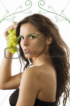 the grape and the girl
