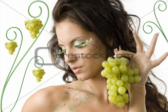 showing grape