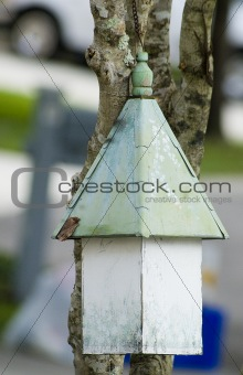 Old Weathered Birdhouse