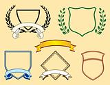 Banners and Logo Elements One